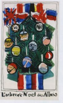 L'arbre De Noël Des Alliés