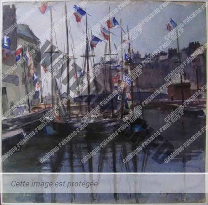 14 Juillet 1898 Au Havre