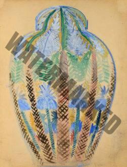 Vase Aux Palmiers