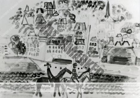 Cavaliers à Deauville