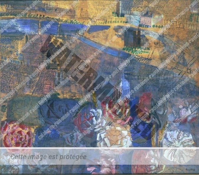 Composition Panoramique De Paris