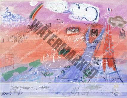 Arc-en-ciel Sur Paris