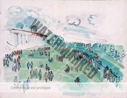 Champ De Courses à Chantilly