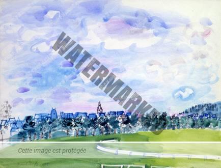Champ De Courses à Deauville