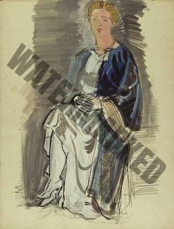 Étude Pour Le Portrait De Mme Roudinesco