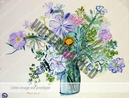 Bouquet à La Fleur Jaune