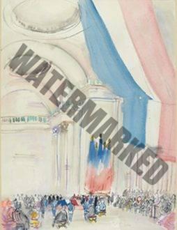 Les Funréailles Du Président Painlevé Au Panthéon