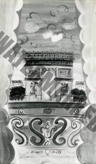 Fenêtre Ouverte Sur L'arc De Triomphe