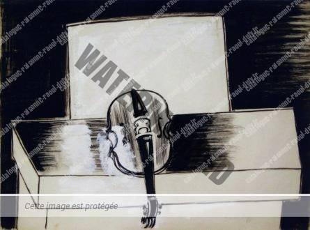 Violon Noir Et Blanc