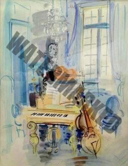 Intérieur Aux Instruments De Musiques