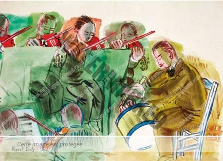 L'orchestre Au Cinq Musiciens