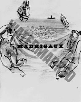 Page De Droite Des Madrigaux