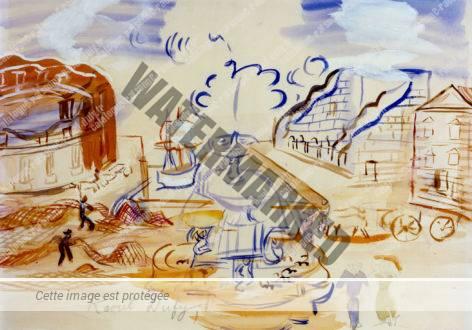 Composition à La Fontaine