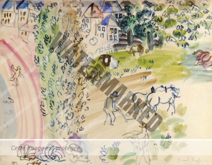 Composition - The Village Garden