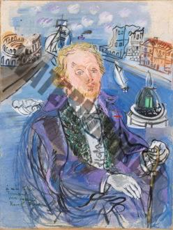 Portrait De Fernand Fleuret