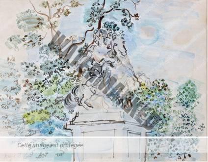 Statue équestre De Louis XIV Par Le Bernin Dans Le Parc De Versailles