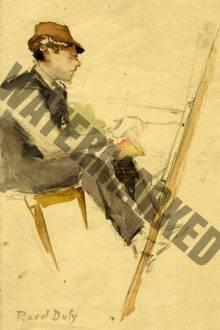 Le Jeune Peintre à Son Chevalet