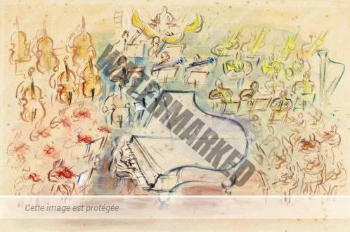 Étude Pour Orchestre à La Pianiste