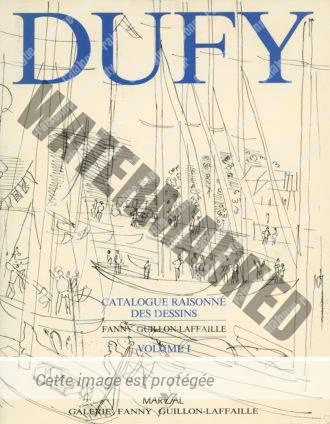 Catalogue Raisonné Des Dessins De Raoul Dufy