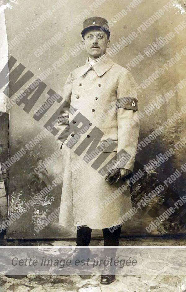 Raoul Dufy, soldat pendant la guerre de 14-18