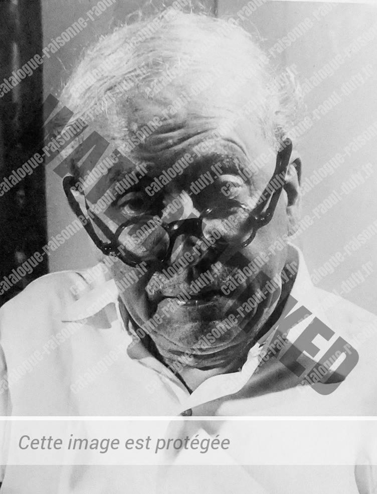 Raoul Dufy en 1950
